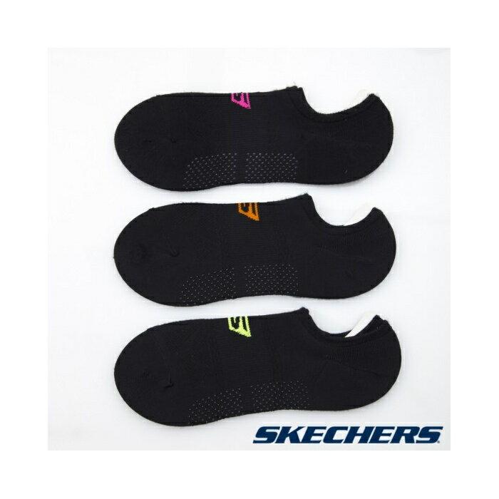 [陽光樂活] SKECHERS 女運動踝襪 透氣 一組三雙 S101596-001