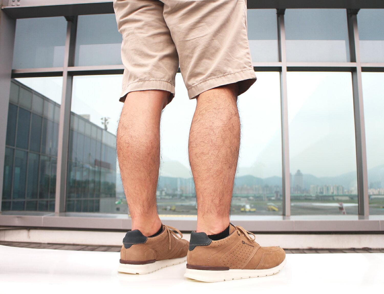 【全店點數15倍送】Kildare 巴西綁帶休閒鞋 淺棕 男 慢跑 9