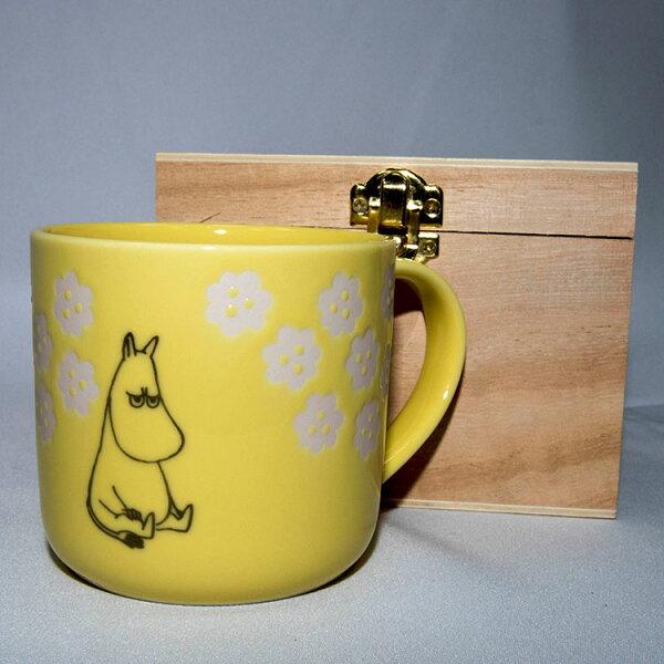 NOBA 不只是禮品:MOOMIN嚕嚕米陶瓷馬克杯鏤空花紋木盒正版日本製