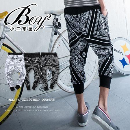 ☆BOY-2☆【NQ95036】幾何民族風飛鼠褲-3色 現+預 1