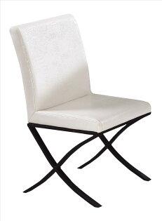 【石川家居】JF-481-11威爾士白鱷皮餐椅(單只)(不含其他商品)台北到高雄搭配車趟免運