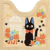 魔女宅急便周邊商品推薦日本直送 吉卜力 宮崎駿 魔女宅急便 黑貓 可愛造型 浴室腳踏墊 (粉橘款)