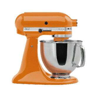 KitchenAid 桌上型 攪拌機南瓜橘 美國百年品牌 美國原裝 Made in USA 買就送丹麥Bodum濾壓壺+CANTEEN雙層玻璃杯2入組