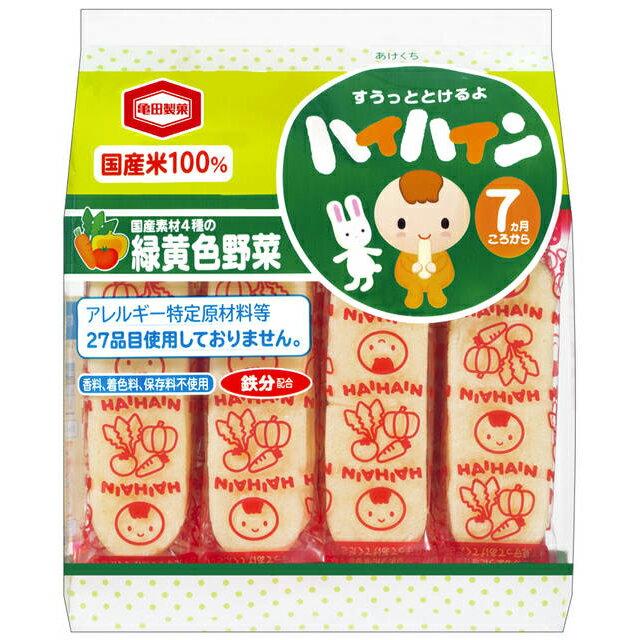 龜田 - 嬰兒米果 - 野菜仙貝