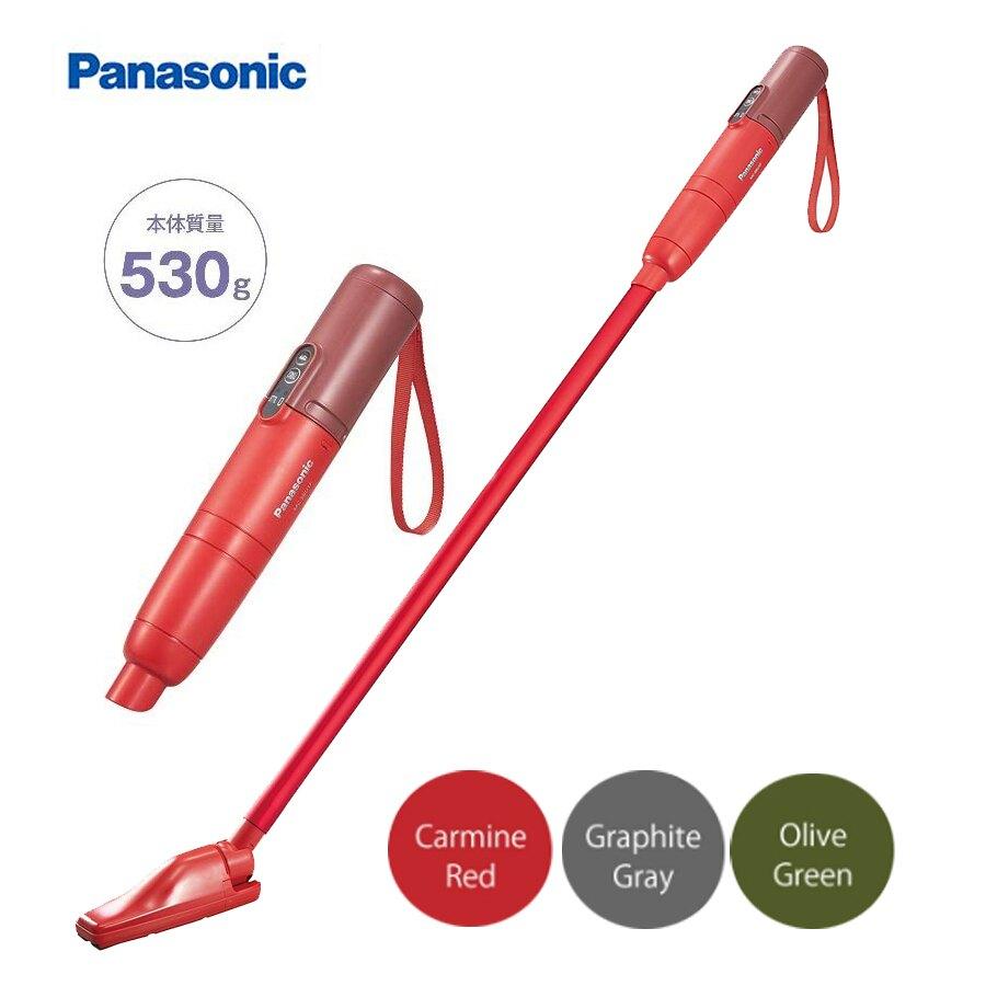 日本【Panasonic】MC-SBU1F 超輕量 2way 兩用手持無線吸塵器 (共3色)