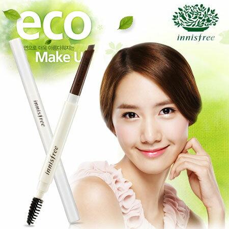 韓國 innisfree 自然眉型雙頭旋轉眉筆.3g 旋轉眉筆 眉筆 雙頭眉筆~N1010