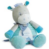 彌月禮盒推薦Doudou 藍綠小驢子抱抱大布偶 (40cm)