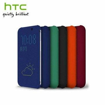 【拆封新品】HTC Desire 626 原廠炫彩顯示保護套洞洞殼保護套Dot View Cover (HC M180)