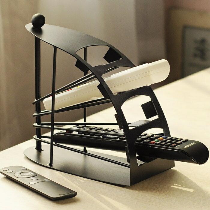 11.11超值折扣 創意家居收納架鐵質遙控器收納盒桌面遙控器架遙控器盒遙控器座