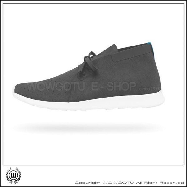 NATIVESHOES - APOLLO CHUKKA -DUBLIN GREY/SHELL WHITEY(1504)
