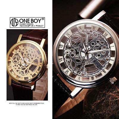 『 One Boy 』【N8079】好感穿透系羅馬數字手錶