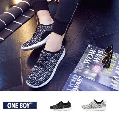 『 One Boy 』【R61014】純淨舒適好感百搭休閒運動鞋