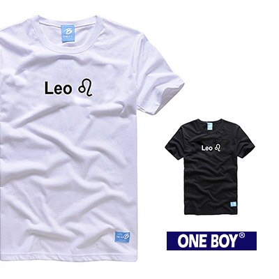『 One Boy 』【O160614】獅子座-質感十二星座休閒短袖T恤