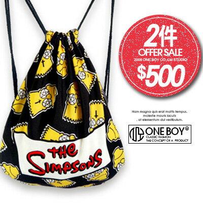 ~ 2件↘ 500~~ One Boy ~~N990038~童趣玩味吉普家族印樣束口袋