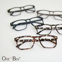 『 One Boy 』【ZU837】韓系百搭關鍵質感星星裝飾鏡框 5色