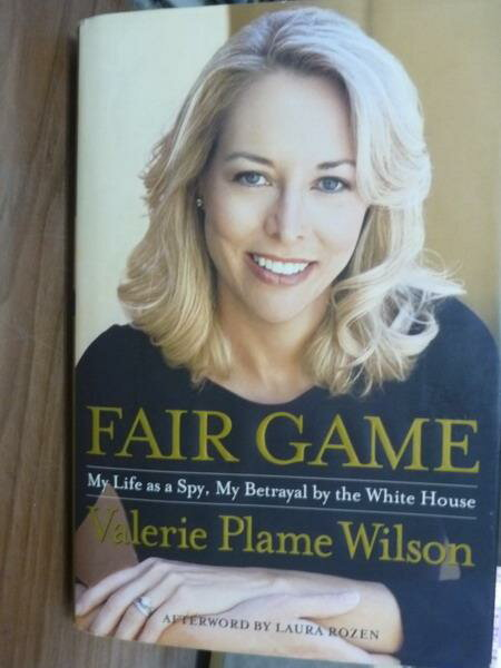 【書寶二手書T4/原文書_PFS】Fair Game_Valerie Plame Wilson