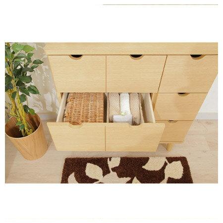 ◎(OUTLET)木質整理櫃 LUFFY2-80NA 福利品 NITORI宜得利家居 2