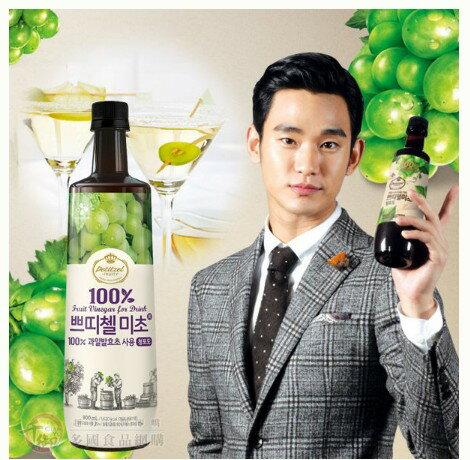 韓國CJ 100%發酵果醋500ml 醋 飲料[KO8801007]千御國際