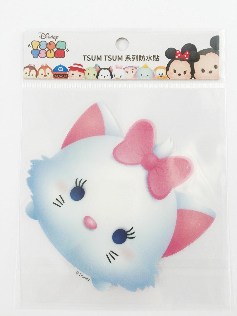 【真愛日本】16011200035  TSUM防水貼紙-瑪麗貓   瑪莉貓 MARIE 迪士尼 裝飾貼紙 PVC 貼紙
