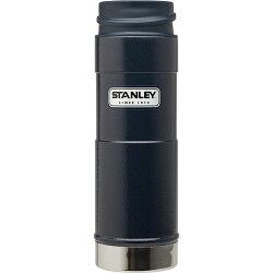 ├登山樂┤ 美國 Stanley 經典單手保溫咖啡杯 0.47L-錘紋藍 # 10-01394-BL