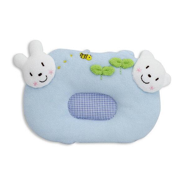 AKACHAN阿卡將小熊&小兔授乳枕-水