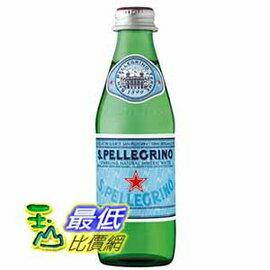 [COSCO代購如果售完謹致歉意]SanPellegrino聖沛黎洛天然氣泡水250毫升X24瓶_W109326