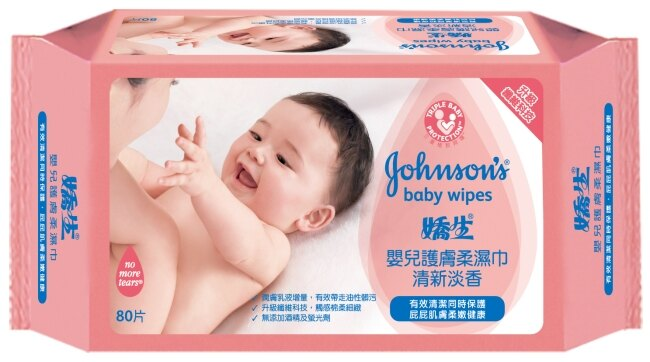 嬌生嬰兒護膚柔濕巾-清新淡香80片 0