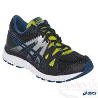 慢跑_路跑周邊商品推薦到ASICS亞瑟士 男慢跑鞋 (黑)  GEL-UNIFIRE 休閒鞋