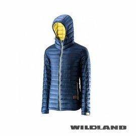 【速捷戶外】《Wildland 荒野》# 0A22112-49 男700FP連帽輕羽絨衣-灰藍, 羽絨外套