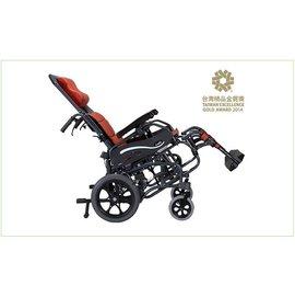 康揚karma KM-1520.3T 仰樂多515 高背輪椅空中傾倒型 深層紓壓照護款 輪椅-B款、附加功能-移位(A款)+空中傾倒(C款)補助 贈品 浮動坐墊
