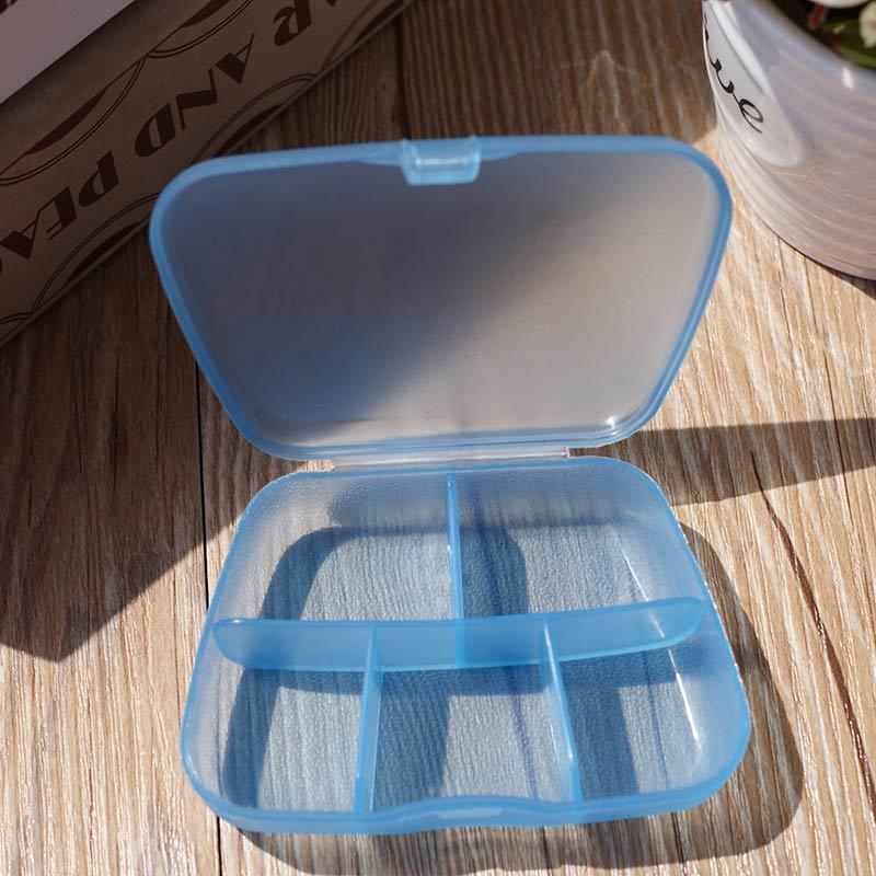 PS Mall 五格盒子塑膠便攜旅行盒子【J1630】 4
