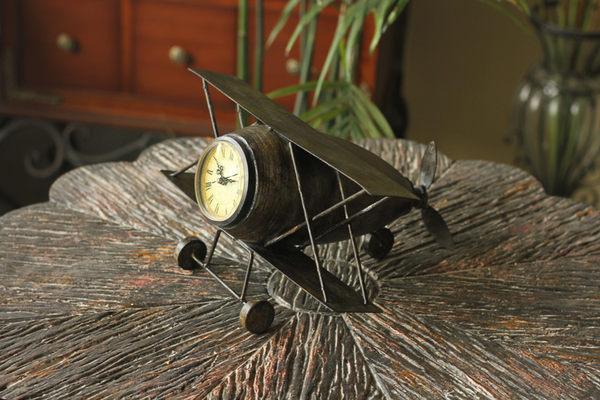 複古鐘表金屬鐵藝仿古座鐘