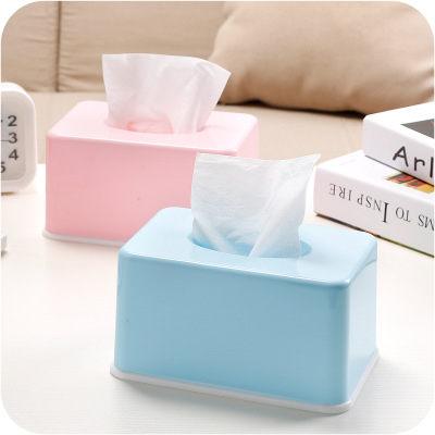 PS Mall 糖果色紙巾盒家用客廳茶几桌面抽紙盒【J008】 1