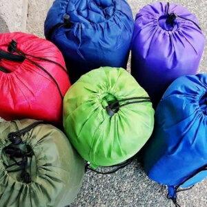 美麗大街【106112911】秋冬保暖可展開信封式連帽輕量睡袋
