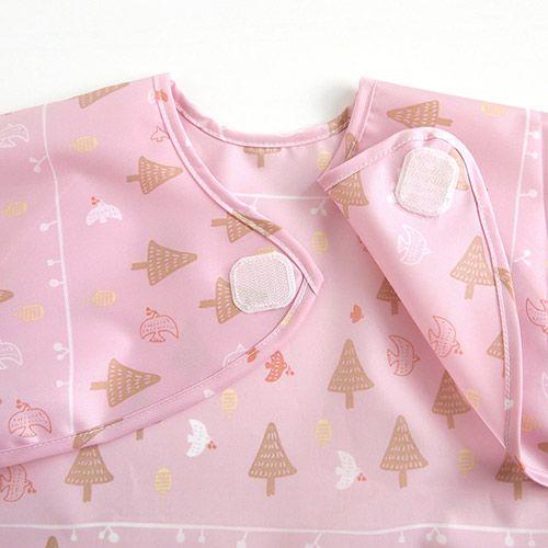 Hoppetta - 花語森林餐圍兜 (粉紅) 5