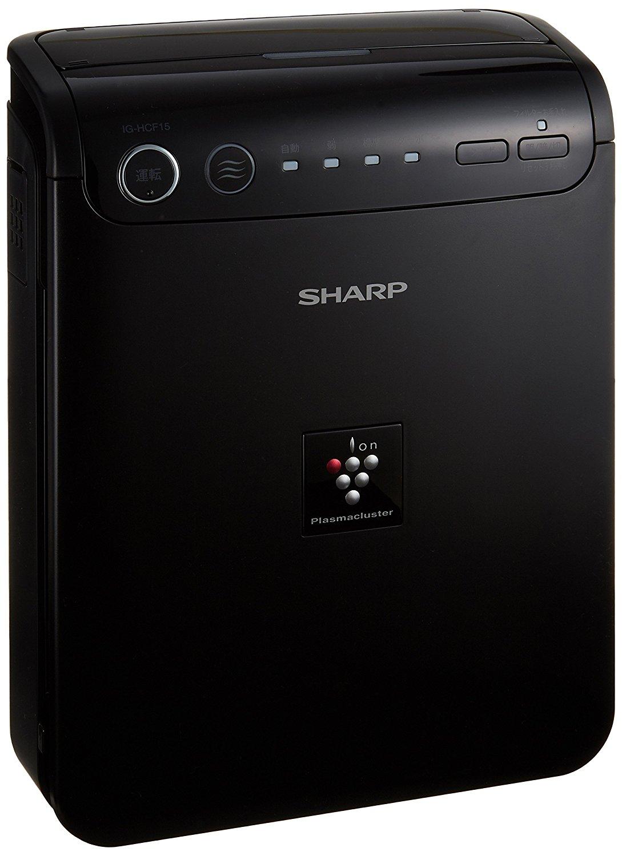 日本直送SHARP 夏普 IG-HCF15 B 高濃度 負離子 車用 空氣清淨機 空濾 黑色 B 車用空氣清淨機 自動檢測 抗菌除臭花粉