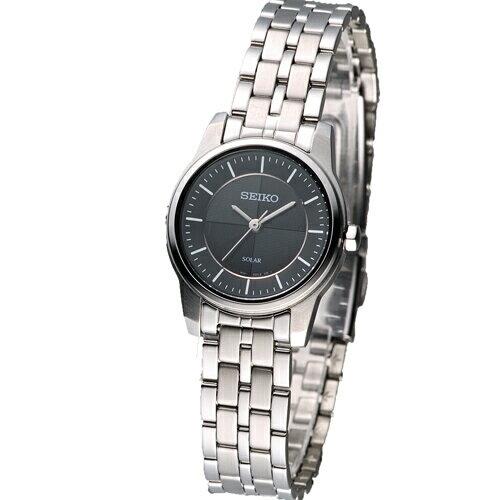 SEIKOSolar典雅高尚菁英腕錶渡邊力設計STPR031J(V111-0BK0S)