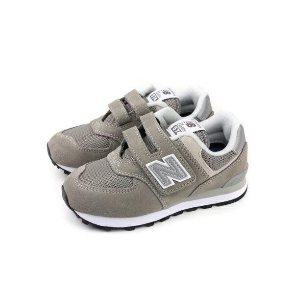 NewBalance運動鞋魔鬼氈麂皮灰色童鞋YV574GG-Wno388