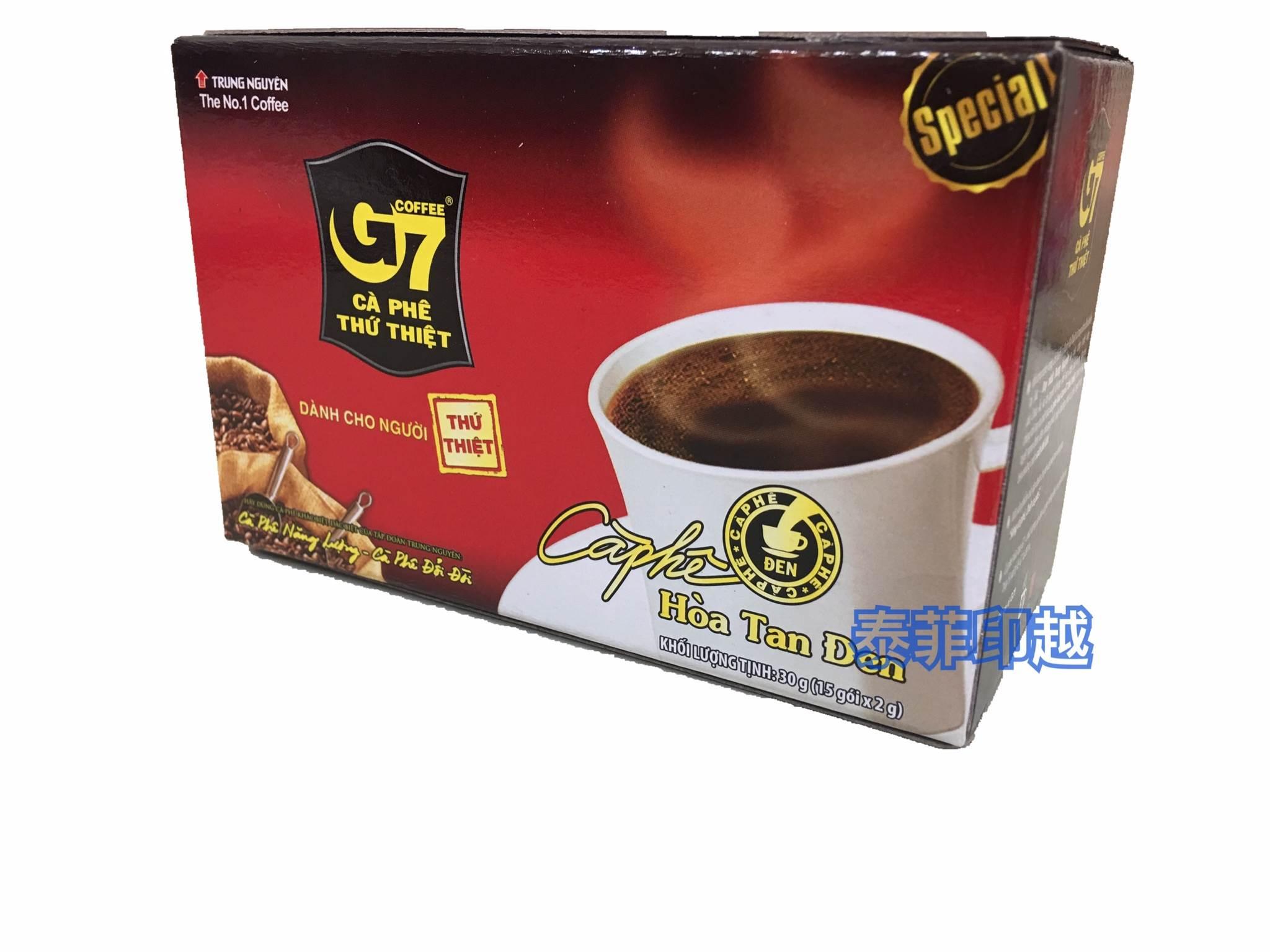 越南 G7 黑咖啡 15入