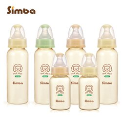 Simba小獅王辛巴 - PPSU標準奶瓶大套組 (4大2小)