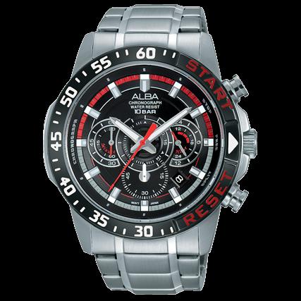 ALBAVD53-X239D(AT3967X1)活力運動計時腕錶44mm