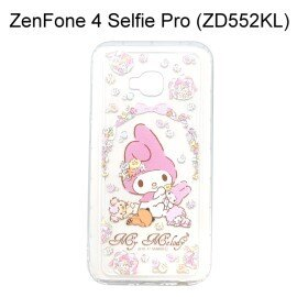 美樂蒂空壓氣墊軟殼[捧花]ASUSZenFone4SelfiePro(ZD552KL)5.5吋【三麗鷗正版】