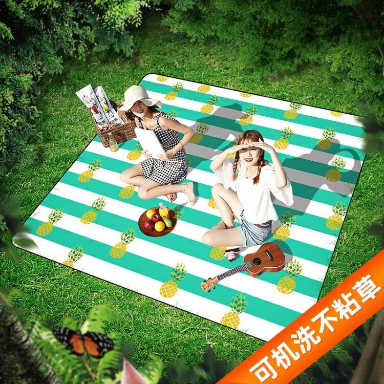 野餐墊防潮墊加厚野餐布戶外便攜防水野炊地墊草坪郊游春游ins風
