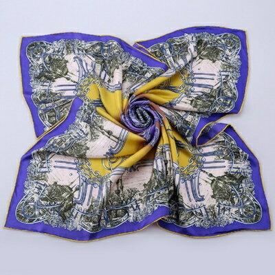 絲巾桑蠶絲圍巾-古典優雅獨特大方女配件4色73hx30【獨家進口】【米蘭精品】