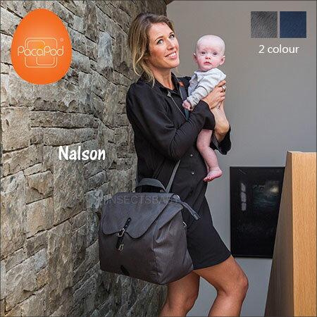 ✿蟲寶寶✿【英國PacaPod】部落客推薦 三合一時尚多功能媽媽包 附分類包+尿布墊 - Nelson