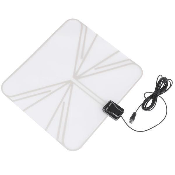 Satellite Signal Digital Indoor Television Antenna Falt Wave Box HD UHF/VHF/FM 0
