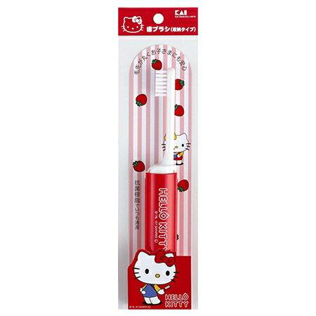 【貝印】HELLO KITTY凱蒂貓抗菌兒童牙刷 M (2入)