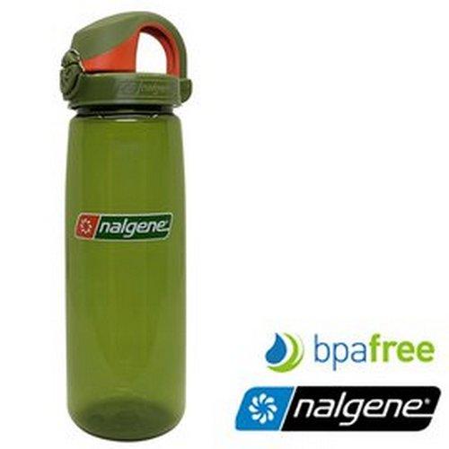 【Nalgene 美國】OTF 運動水壺 水瓶 隨身水壺 無雙酚A《杜松/杜松橘蓋》(5565-1424) 【容量650ml】