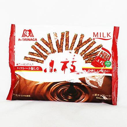 【敵富朗超巿】森永製果 小枝杏仁巧克力餅乾棒 (144g) - 限時優惠好康折扣