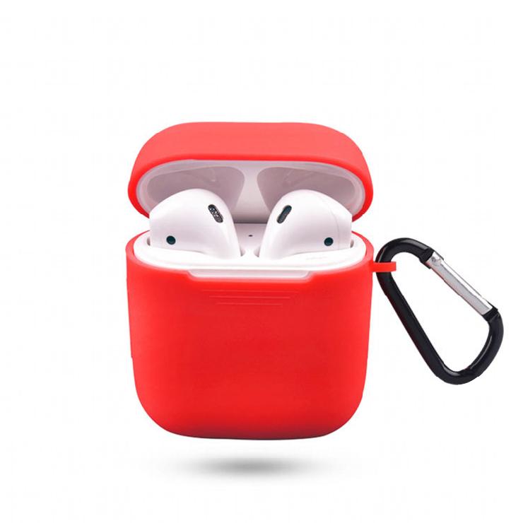 贈掛勾+24H出貨【AirPods充電盒矽膠保護套 】矽膠保護套 AirPods充電盒保護套 IPhone耳機盒防塵套 藍芽耳機盒保護套 充電盒矽膠保護套【AB180】